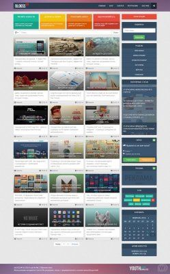 Blogss Youth-Templates для DLE
